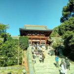 鶴岡八幡宮(本宮下から撮影)