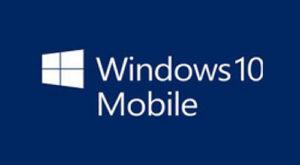Windows10 Mobileのロゴ
